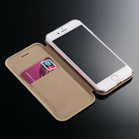 Ultra Slim Luxury Conch Magnetic Wallet Leather Case Cover For iPhone 7 7 Plus