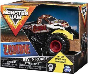Official Monster Jam 1:43 Spin Zombie Rev 'N Roar Monster Truck FAST UK DISPATCH