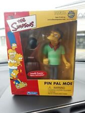 Playmates Simpsons Toyfare Pin Pal Moe MINT in box