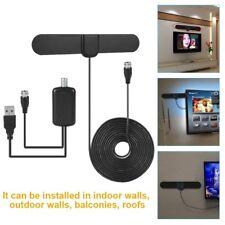 Antenna TV Digital HD Skywire Antena Digital Indoor HDTV with Amplifier Adapter