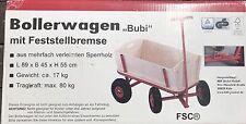 Bollerwagen M. bremse Pu-reifen