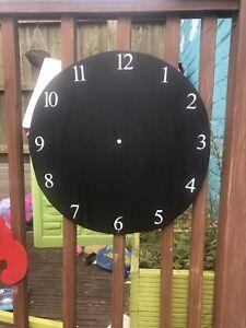 Children's Outdoor Clock Chalkboard Garden Handmade  School Nursery