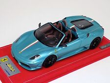 1/18 Looksmart MR Ferrari Scuderia Spider 16M Blu Tiffany Lim 50 pcs