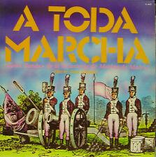 GRAN BANDA DE LA INFANTERIA DE MARINA DE MADRID-A TODA MARCHA LP VINYL 1982