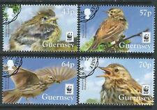 Guernsey 2017 WWF Prado Pipeta Conjunto de 4 fino utilizado