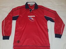 2000 2002 SELECCION CHILE HOME UMBRO S LONG SLEEVE JERSEY WORLD CUP