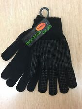 Thermal winter GRIP GLOVES Gripper magic gloves, With Fingers, one size adults