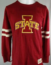 Iowa State Cyclones '1858'  NCAA Fanatics Men's Football Long Sleeve Shirt