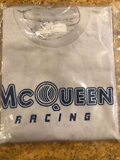 cd350309987df Hunziker Apparel McQueen Racing Gray T-Shirt 100% Cotton NWT