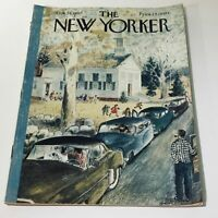 The New Yorker: Oct 26 1957 - Full Magazine/Theme Cover Garrett Price