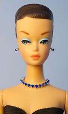 Barbie Repro FR Handmade Necklace Earrings Bracelet Rhinestone Jewelry NE1433