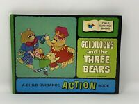 GOLDILOCKS AND THE THREE BEARS Illustrated By GEORGE BUCKET (Action Hardcover)