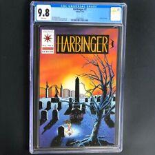 Harbinger #7 (Valiant 1992) 💥 CGC 9.8 WHITE Pages 💥 Funeral of Torque! Comic