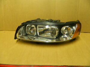 VOLVO  S60 LH HEADLIGHT ASSEMBLY drivers side 2005-2009 HALOGEN