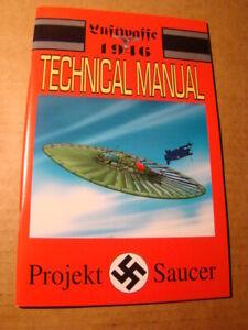 LUFTWAFFE 1946 TECHNICAL MANUAL 1 *NM+ 9.6 OR BETTER* ALTERNATE WAR