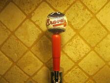 Atlanta Braves Kegerator Beer Tap Handle MLB Pub Style Baseball Team Logo