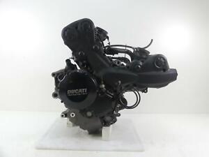 2013 Ducati Streetfighter 848 Running Engine Motor 15K - Video - Read 22522851A