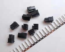 10 Kits Molex3.0 6P 6 Pin Male Power plug Connector terminal pins cable harness