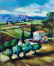 SLAVA BRODINSKY **FIELDS VIEW** SIGNED SERIGRAPH
