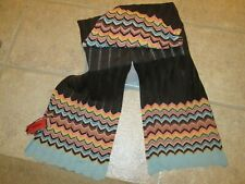 New with Tags MISSONI for Target Long Wrap Straight Scarf Chevron Design 1st Col
