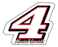 "NASCAR #4 Kevin Harvick DECAL-Kevin Harvick STICKER-JUMBO 10"" SIZE"