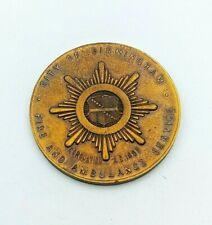 More details for qe2 city of birmingham fire & ambulance service presentation medal / medallion