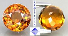 IF - 1.49ct !!! GROSSULAIRE du MALAWI - lumineux whisky miel - poli AAA++