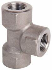 """Stainless Steel Tee Fitting High Pressure Pipe Adaptor 600 Bar 3/8"""" BSP Female"""
