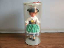 Rare old vintage beautiful big size doll with box of 60's, made in Austria.