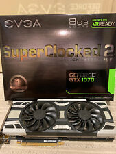 EVGA 1070 GeForce  SuperClocked 2 8GB  GDDR5