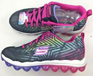 Skechers Skech-Air/ Girls/Jump Around/ Black/Multi/Air Cool Memory Foam/50%Off