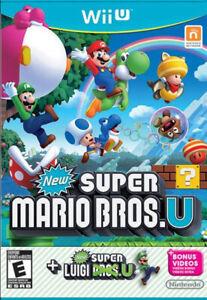 New Super Mario Bros. U + New Super Luigi U (Nintendo Wii U, 2015) Tested
