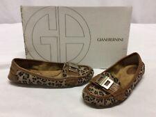 Giani Bernini CRISPA Women,s Flats Shoes, Leopard, Size 5.5 M
