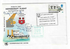 Christopher Cockerell & Peter Lamb Signed Hovercraft Fdc / Autographed Inventor