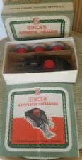 Vintage Singer Automatic Zigzagger Attachment No.160985 Original Box Instruct.