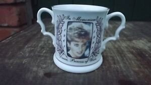 1997 In Memoriam Diana Princess of Wales Loving Cup Chown China Ltd Edition