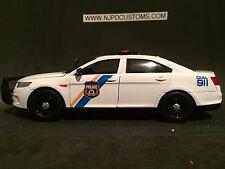 Philadelphia Police PA 1:24 Scale Ford Taurus Interceptor