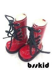SALE Blythe Pullip Momoko 1/6  Doll Red Shoes Boots