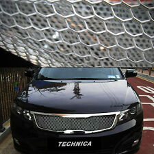 Aluminum Wire Honeycomb Hex Mesh Grille Diy Kit 19x35 For KIA 2016-2017 Niro