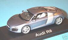 wonderful  new AUDI R8  2006 in b l u e  metallic