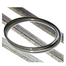 """Kent 61.8"""" x 1/5"""" Replacement Diamond Coated Band Saw Blade Grit 170~200"""
