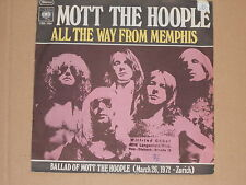 """MOTT THE HOOPLE -All The Way From Memphis- 7"""" 45"""