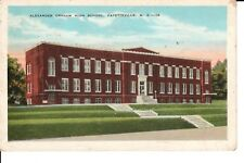 1931 Alexander Graham Bell High School in Fayetteville, NC North Carolina PC