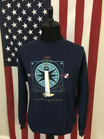 vtg Charleston, South Carolina Lighthouse Sweatshirt men's XL made in usa 16557