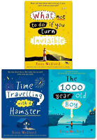 Ross Welford Collection 3 Books Set Pack Time Travelling with a Hamster NEW