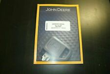 John Deere 317 320 Skid Steer Loader Operators Manual