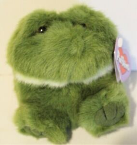 1997 Vintage LILY the Frog Plush Puffkins SWIBCO With Tags Style 6600 FREE SHIP