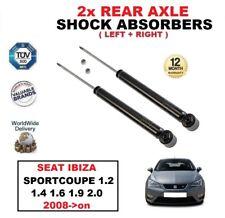 2x Amortiguadores traseros SET para SEAT IBIZA Sportcoupé 1.2 1.4 1.6 1.9 2.0