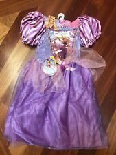 Disney Rapunzel Tangled Costume Halloween Size Kids 4-6x *RARE* NEW WITH TAGS