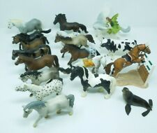 19 SCHLEICH Horse Lot Animals, Horses, Cow, Seal - Various Dates